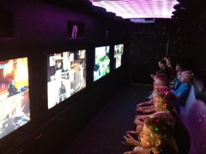 childrens birthday video game truck