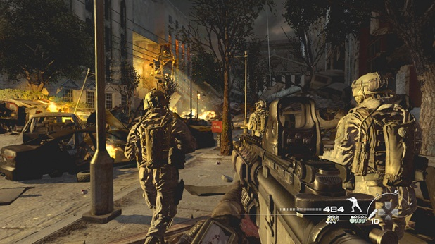 Call Of Duty Modern Warfare 3 Video Game Game On Party