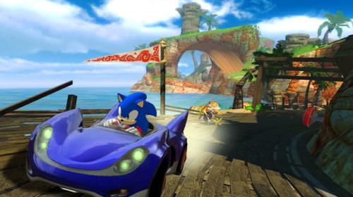 Sonic Sega Allstars Racing