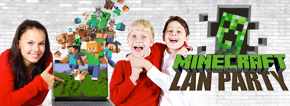 Minecraft LAN Birthday Party