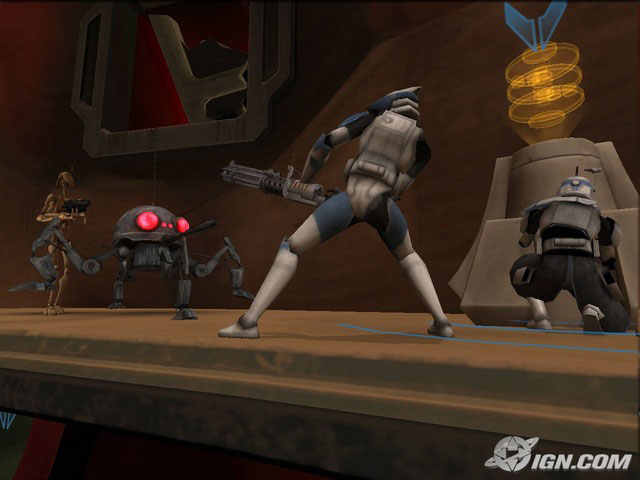 star wars  clone wars  wii  game on party